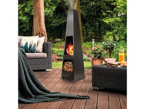 Tower Stealth Chimnea And Wood Store