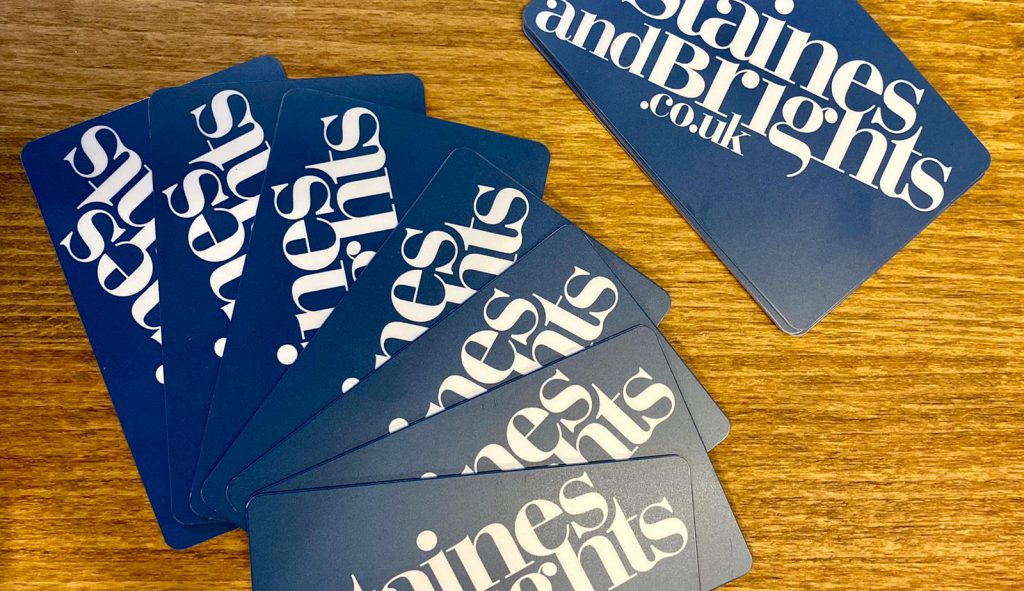 staines and brights loyalty card