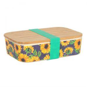YOU ARE MY SUNSHINE SUNFLOWER BAMBOO LUNCH BOX