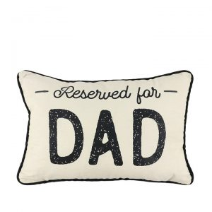 RESERVED FOR DAD RECTANGULAR CUSHION