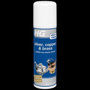 HG Silver And Copper Polish-No-More Spray 200ml