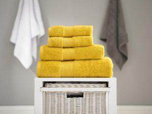Bliss Bath Towel Mustard 70x127cm