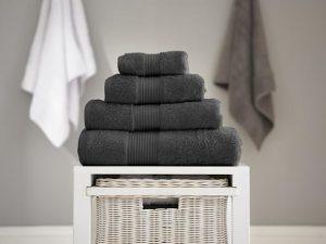 Bliss Bath Sheet Carbon 90x150cm