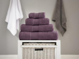 Bliss Guest Towel Grape 40x60cm