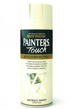 Spray Paint Antique White Gloss 400ml