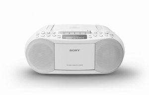 Sony CFDS70BCEK Cass/CD/Radio Boom Box 2 x 1.7w 30 Radio Presets