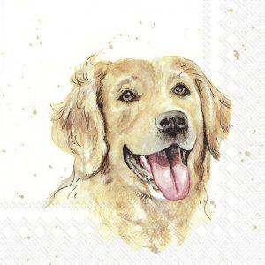 Napkin Farm Friends Dog x20