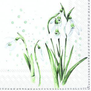 Napkin Spring Greetings x20