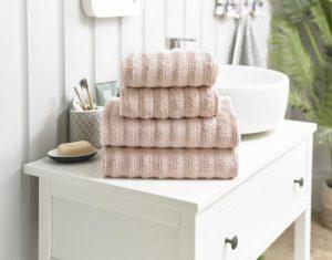 Richmond Bath Towel Pink