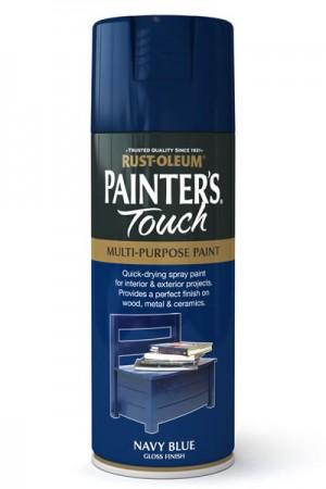Spray Paint Navy Blue Gloss 400ml