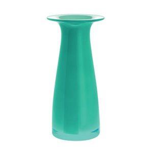 Dartington Juno Ocean Green Tall Vase