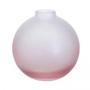 Dartington Wellness Replenish Pink Orb Vase