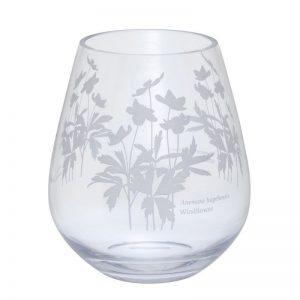 Dartington Bloom Wide Windflower Vase