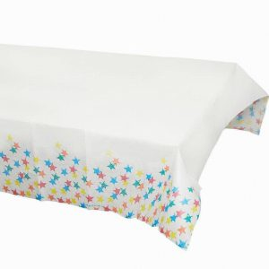 Talking Tables Birthday Brights Rainbow Star Paper Table Cover