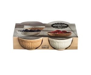 Mason Cash Food Preparation Bowls Cane Set Of 4