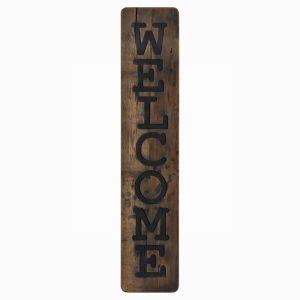 Wooden Welcome Plaque