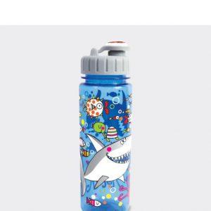 Rachel Ellen Water Bottle- Sharks