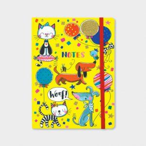 Rachel Ellen Notebook- Cats And Dogs