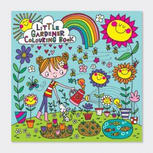 Rachel Ellen Colouring Book- The Little Gardener