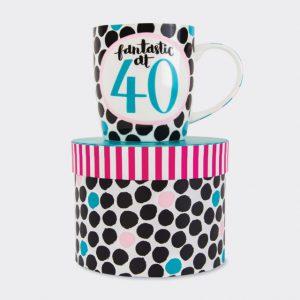 Rachel Ellen Mug- Fantastic At 40