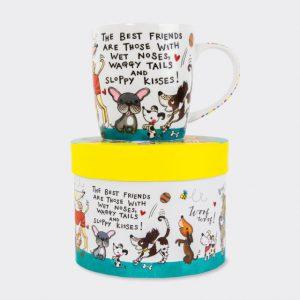 Rachel Ellen Mug- The Best Friends Are Dogs