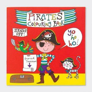 Rachel Ellen Colouring Book- Pirates