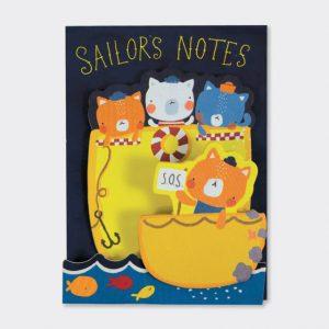 Rachel Ellen Little And Large Sticky Notes- Sailors Notes