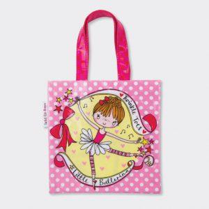 Rachel Ellen Mini Tote Bag- Little Ballerina