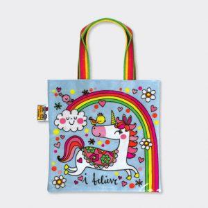 Rachel Ellen Mini Tote Bag- Unicorns