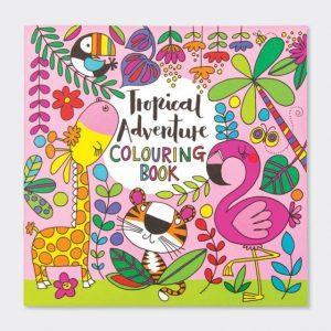 Rachel Ellen Colouring Book- Tropical Adventure