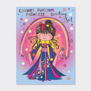 Rachel Ellen Writing Set- Cherry Blossom Princess