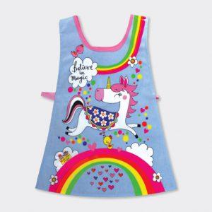 Rachel Ellen Childrens Tabard- Unicorns And Rainbows