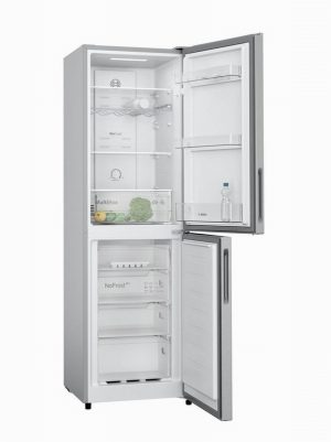 Bosch KGN27NLFAG 55cm Fridge Freezer Silver Frost Free