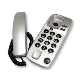 Geemarc Marbella Gondola Style Corded Telephone – Silver