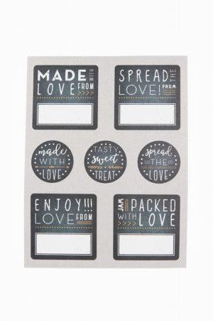Kitchen Pantry – 28Pc Chalk Board Label Set