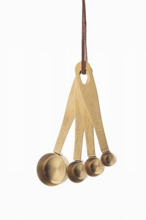 Kitchen Pantry – Brass Measuring Spoons