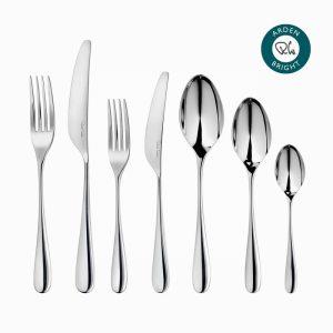 Robert Welch Arden Bright Cutlery Place Setting, 7 Piece