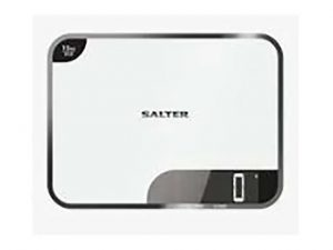 Salter Electronic Kitchen Scale White 15kg Capacity