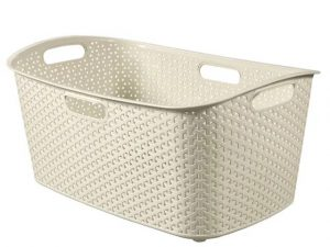 Curver My Style Laundry Basket White 47L