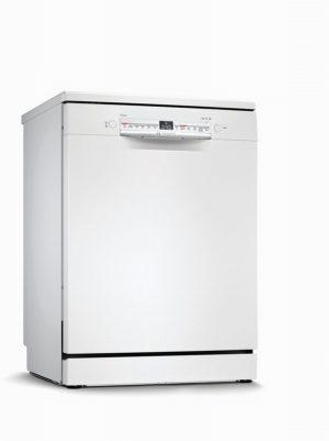 Bosch SMS2HVW66G Full Size Dishwasher – White – 13 Place Setting