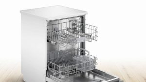 Bosch SMS2ITW08G Full Size Dishwasher – White – 12 Place Setting
