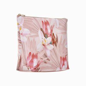 Exotic Bouquet Large Beauty Bag