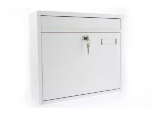 Sterling Ouse Post Box White