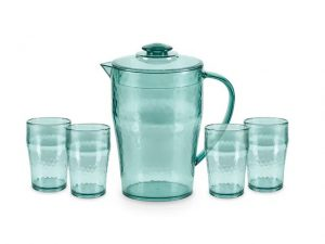 Tower Reusable Pitcher & Glasses
