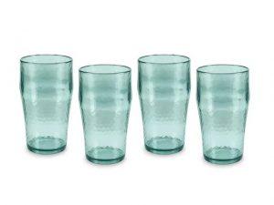 Tower Reusable Beer Glass x 4