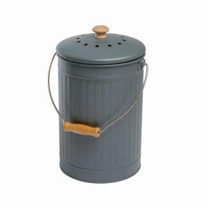 Eddingtons Compost Pail 7L Slate Grey