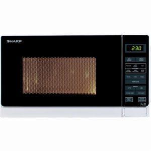 Sharp R272WM 20 Litre Solo Microwave – White