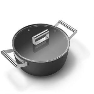 smeg 50's style cookware casserole ckfc2411BLM