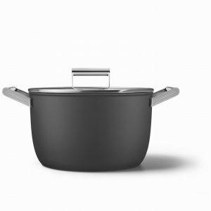 smeg 50's style cookware casserole ckfc2611blm