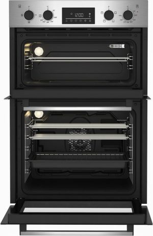 Beko CDFY22309X Built In Electric Double Oven – Stainless Steel